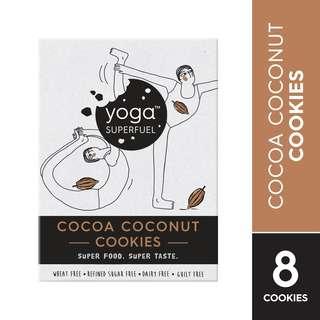 Yoga Superfuel Superfood Cookies - Cocoa Coconut (Wheat Free)