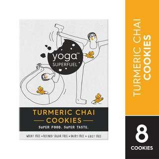 Yoga Superfuel Superfood Cookies - Turmeric Chai (Vegan)
