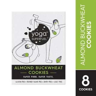 Yoga Superfuel Superfood Cookies - Almond Buckwheat (Vegan)