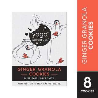 Yoga Superfuel Superfood Cookies - Ginger Granola (Vegan)