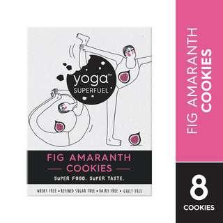 Yoga Superfuel Superfood Cookies - Fig Amaranth (Gluten Free)