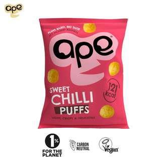 Ape Snacks Sweet Chilli Puffs 25G - Vegan Gluten Free
