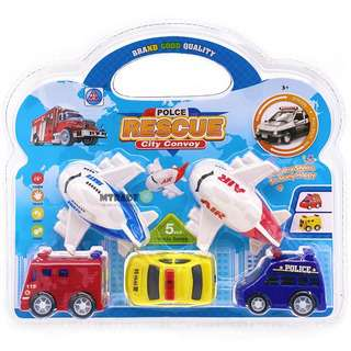 MTRADE Mini Pullback Transportation Vehicle Toys