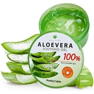Pretty Skin Aloe Vera Soothing Gel