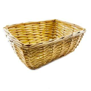 The Paper Stone Cloth Rattan Basket with Cat Prints - Medium