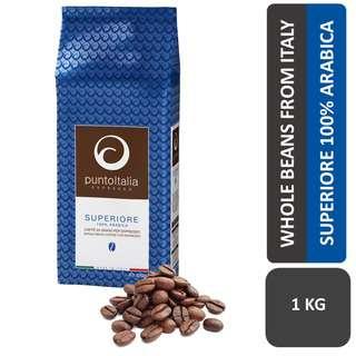 PUNTO ITALIA ESPRESSO - SUPERIORE 100% Arabica coffee beans