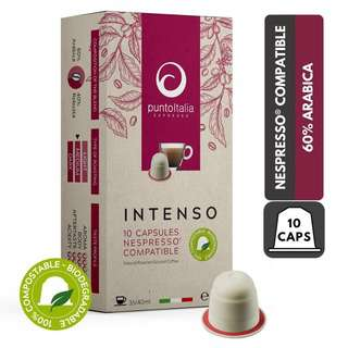 PUNTO ITALIA ESPRESSO INTENSO Nespresso Coffee Pods