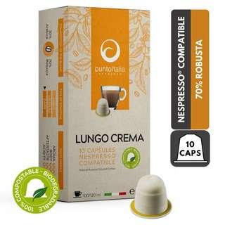 PUNTO ITALIA ESPRESSO - CAFFE CREMA Nespresso Coffee Pods