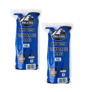 Falcon Galaxy Strong Garbage Bag - 12L (48 x 53 cm) 50pcs