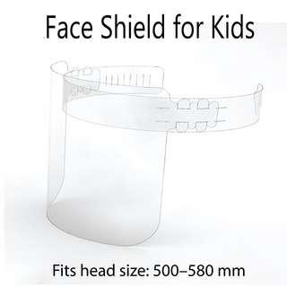 MySpace Face Shield - Kids Size