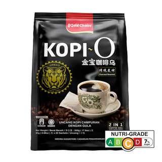 Gold Choice Charcoal Roasted Kopi O Traditional Black Coffee