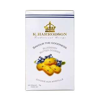 K Harrodson Blueberry Butter Cookies
