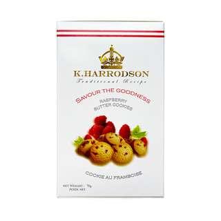 K Harrodson Raspberry Butter Cookies