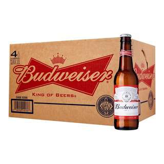 BUDWEISER BEER PINTS - CASE