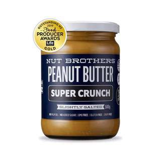 NUT BROTHERS Peanut Butter Super Crunchy 500G