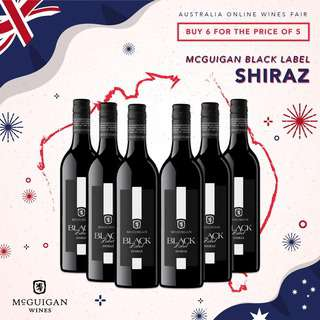 MCGUIGAN BLACK LABEL SHIRAZ - CASE
