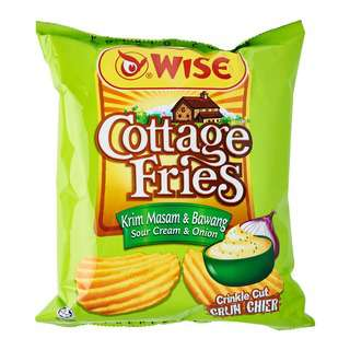 Wise Cottage Fries Potato Chips - Sour Cream And Onion