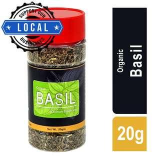 GardenScent Organic Basil Leaf