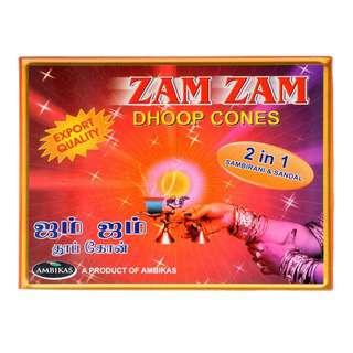 Zam Zam Dhoop Cones