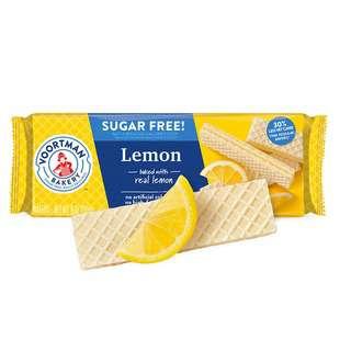Voortman Sugar Free Lemon Wafers
