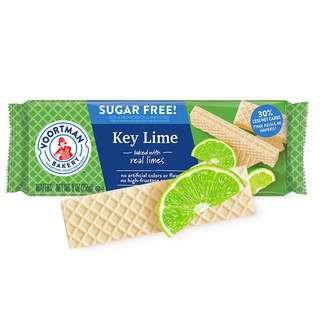 Voortman Sugar Free Key Lime Wafers