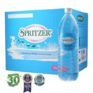 Spritzer Distilled Water