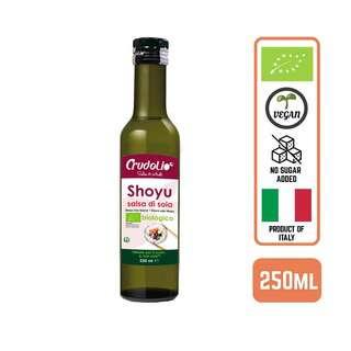 CRUDOLIO Organic Shoyu Sauce Italy 250ML