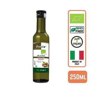 CRUDOLIO Organic Virgin Cold Pressed Walnut Oil Italy 250ML