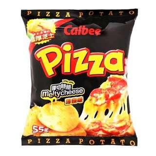 Calbee Pizza Melty C Potato