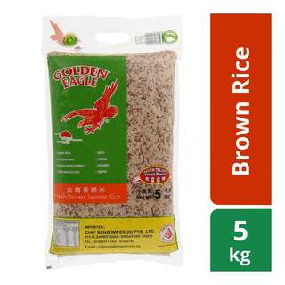 Golden Eagle Fresh Brown Jasmine Rice