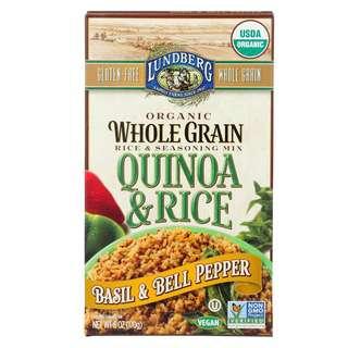 Lundberg Lundberg Organic Basil & Bell Pepper Quinoa & Rice