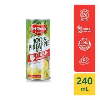 Del Monte Pineapple Juice w/Fibre 240ml