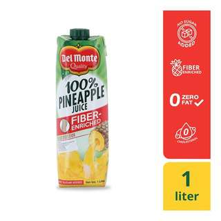 Del Monte Pineapple Juice w/Fibre 1L