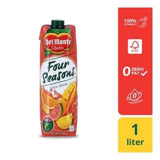 Del Monte Four Seasons Juice Drink Tetra 1L