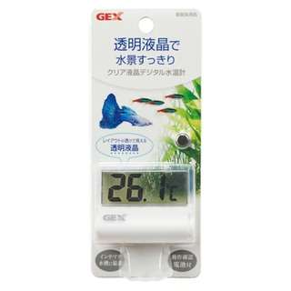 Gex Clear Digital Water Thermometer