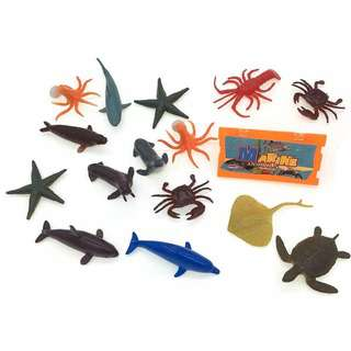 MTRADE Mini Sea Animals Toy Set