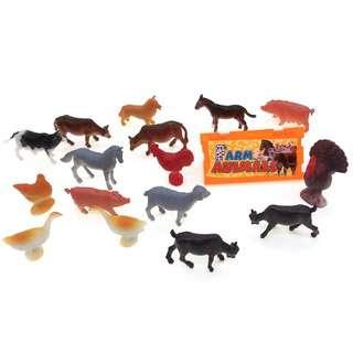 MTRADE Mini Farm Animals Toy Set