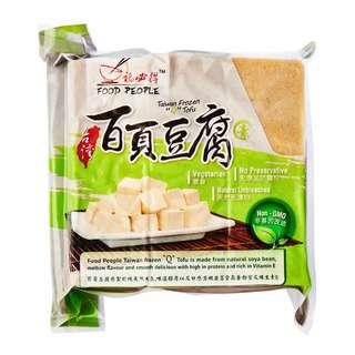 """Food People Tofu - Taiwan Bai Ye """"Q"""" Tofu"""