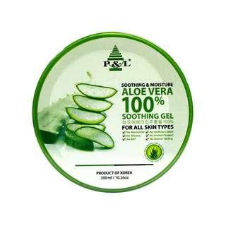 P&L 100% Aloe Vera Gel