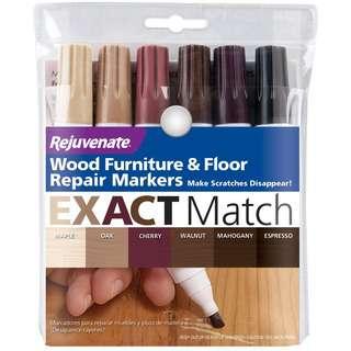 Rejuvenate Wood Repair Markers 6pc 053418