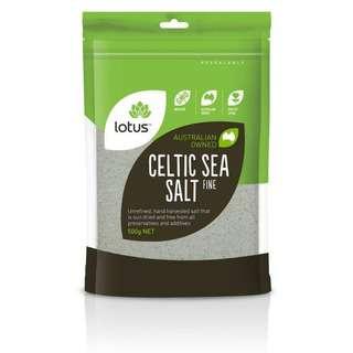 Lotus Fine Celtic Sea Salt