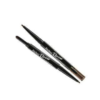 SilkyGirl Perfect Brow Liner And Powder - 02 Dark Brown