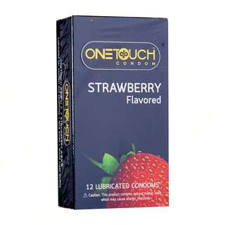 ONE TOUCH Condom - Strawberry