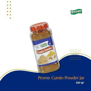 Prome Cumin Seed Powder (Jar) 250G -- By Dashmesh