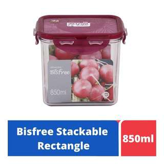 LOCK&LOCK Bisfree Food Container 850ml - Red