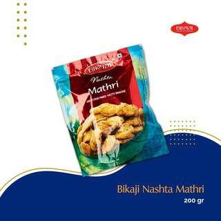 Bikaji Nashta Mathri 200G -- By Dashmesh