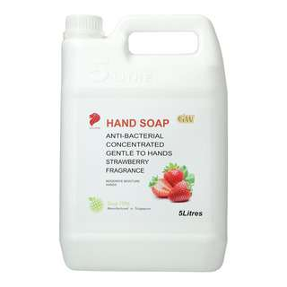 GW Anti-bacterial Hand Soap - Strawberry