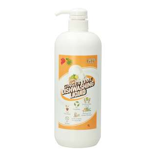 GW Anti-bacterial Dishwashing Liquid - Ginger Lime