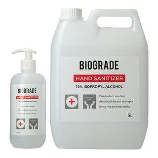 Biograde Hand Sanitizer Bundle