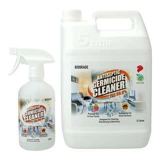 Biograde Antiseptic Germicide Cleaner Bundle